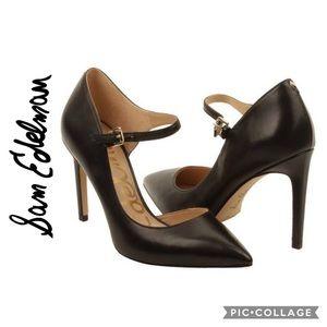 🆕 Sam Edelman Nora Black Leather Pump